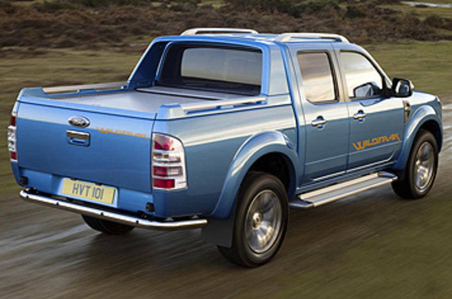Ford Ranger Wildtrak rear quarter
