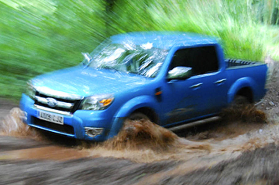 Ford Ranger Wildtrak wading