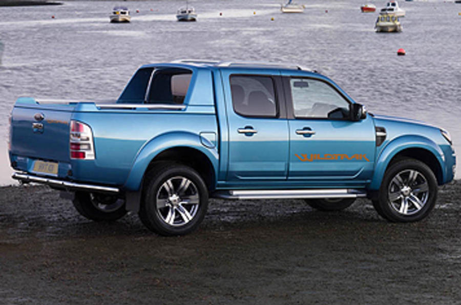 Ford Ranger Wildtrak side profile