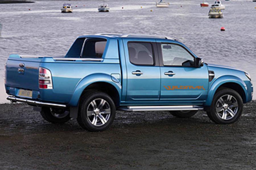Ford Ranger Wildtrak side profile