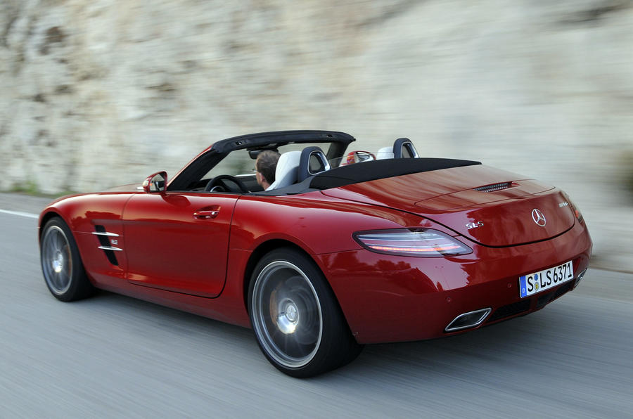 Mercedes amg sls roadster review autocar mercedes benz sls amg roadster publicscrutiny Choice Image
