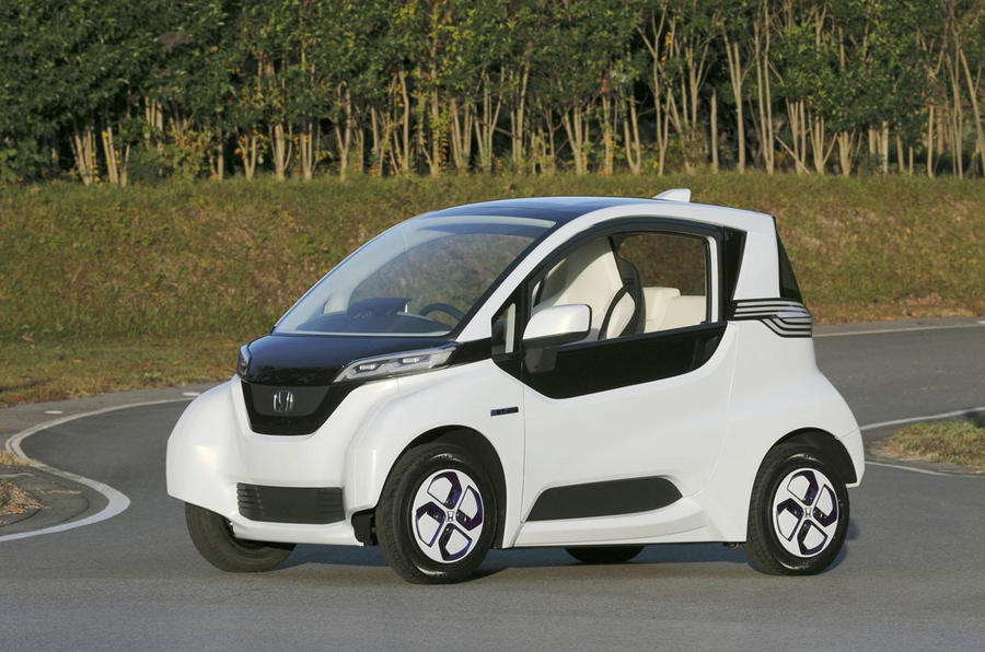 Honda to start testing Micro Commuter prototype