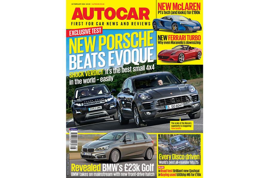 Autocar magazine 19 February preview