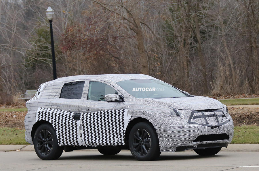 Next Nissan Murano Spotted