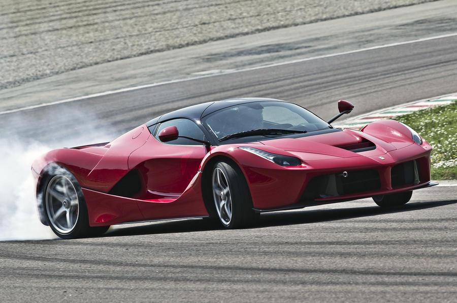 Ferrari LaFerrari drifting