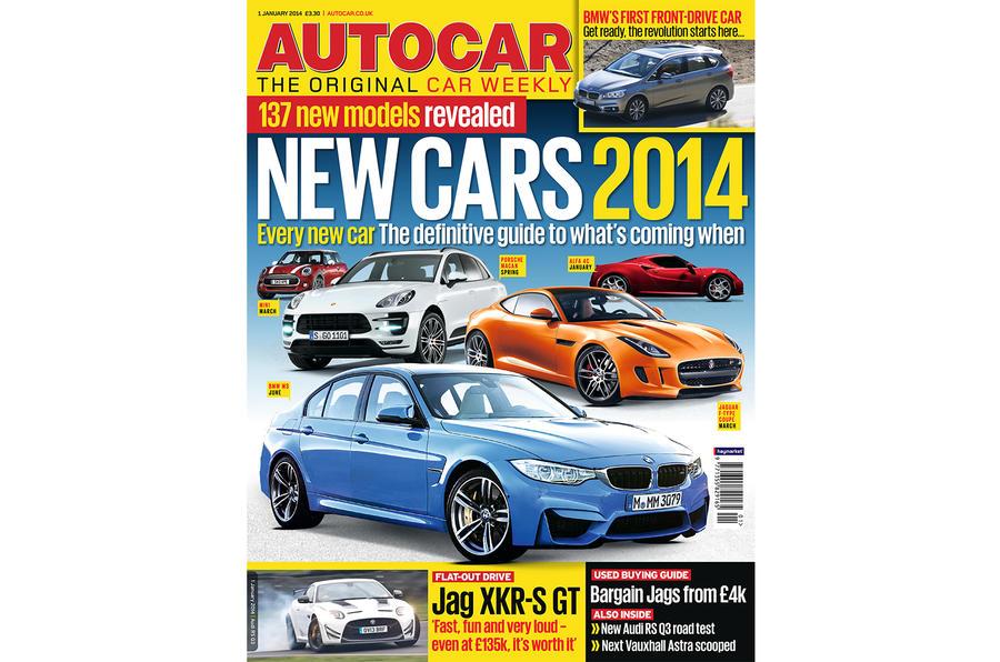 Autocar magazine 1 January preview