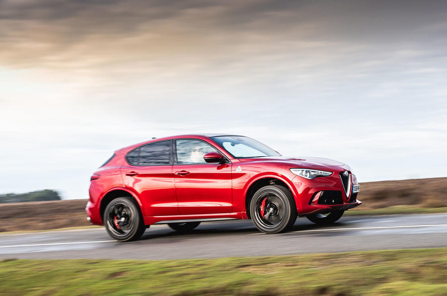 Alfa Romeo Stelvio Quadrifoglio 2019 road test review - hero side