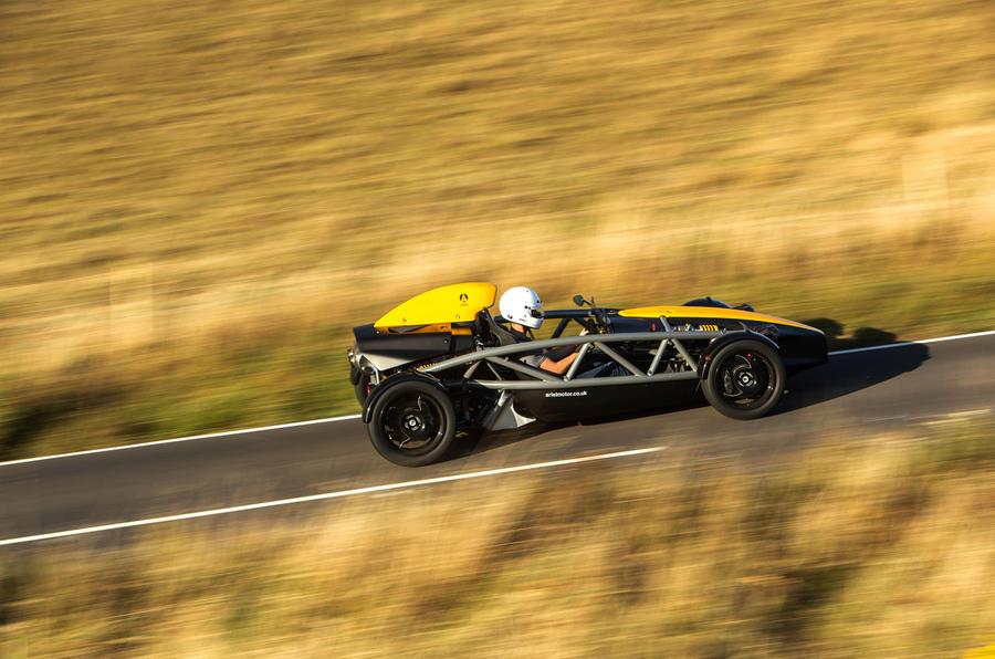Ariel Atom 4 2019 road test review - hero side