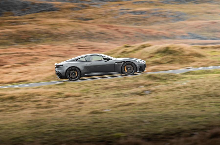 Aston Martin Dbs Superleggera 2018 Road Test Review Hero Side