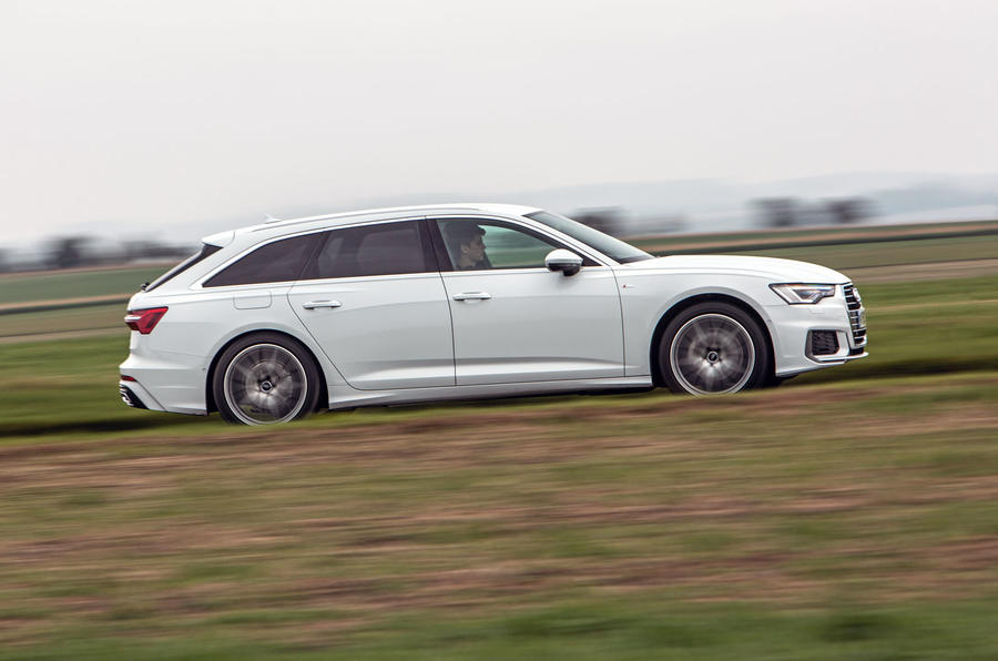 Audi A6 Avant 2018 road test review - hero side