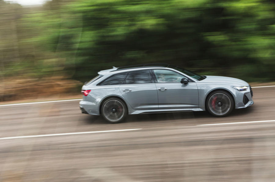 Audi RS6 Avant 2020 road test review - hero side