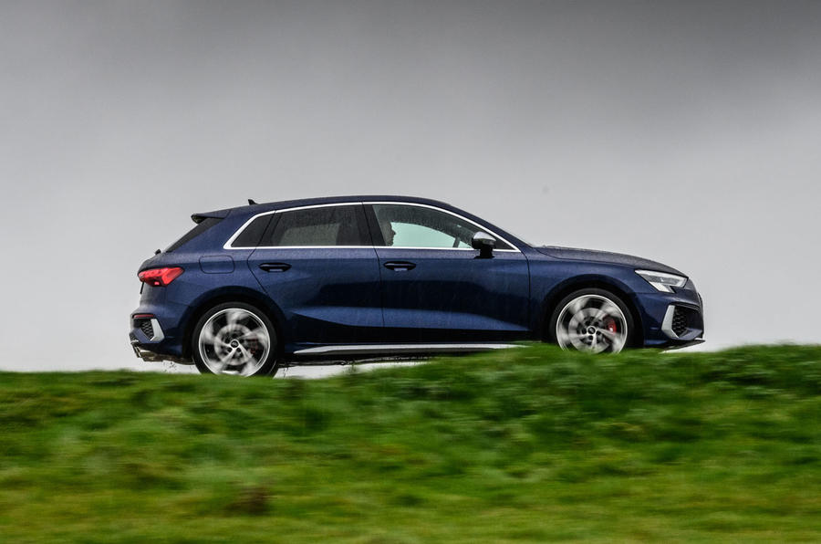 Audi S3 Sportback 2020 road test review - hero side