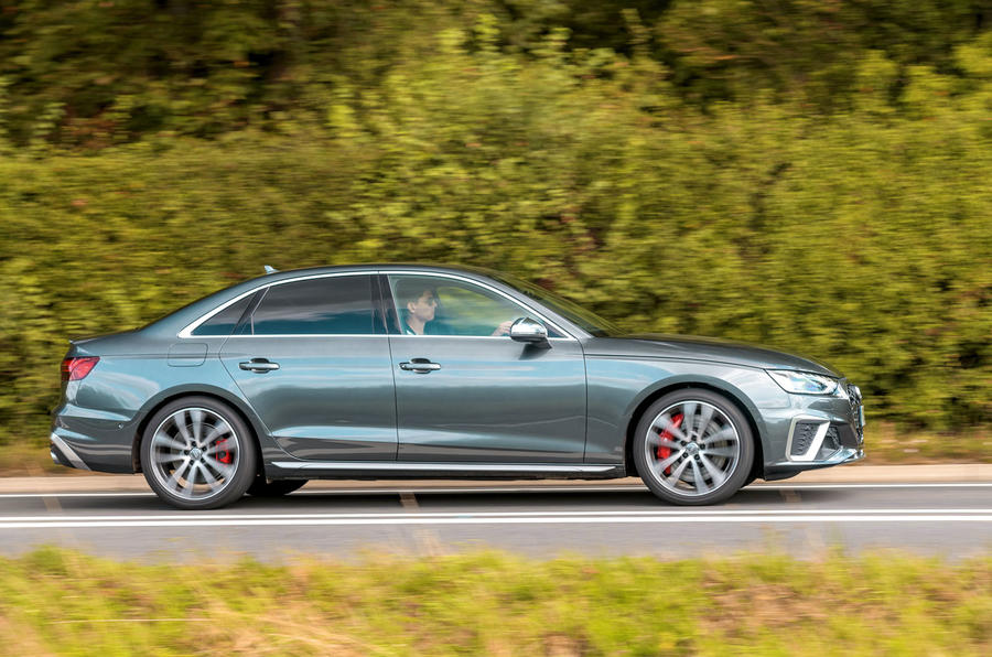 Audi S4 TDI 2019 road test review - hero side