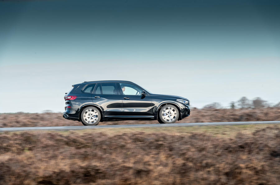 BMW X5 2018 road test review - hero side
