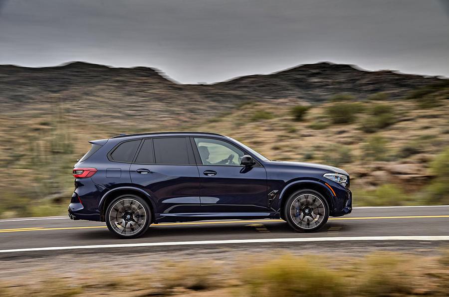 BMW X5 M Competition 2020 : examen de l'essai routier - côté héros