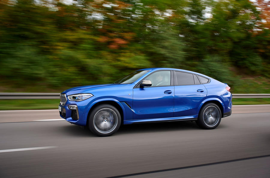 BMW X6 M50i 2019 road test review - hero side