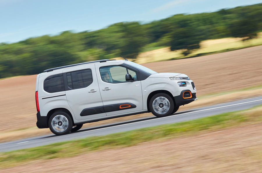 Citroen Berlingo 2018 road test review - hero side