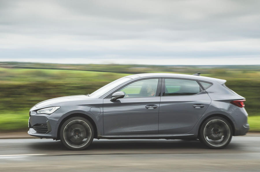 Cupra Leon 2020 road test review - hero side