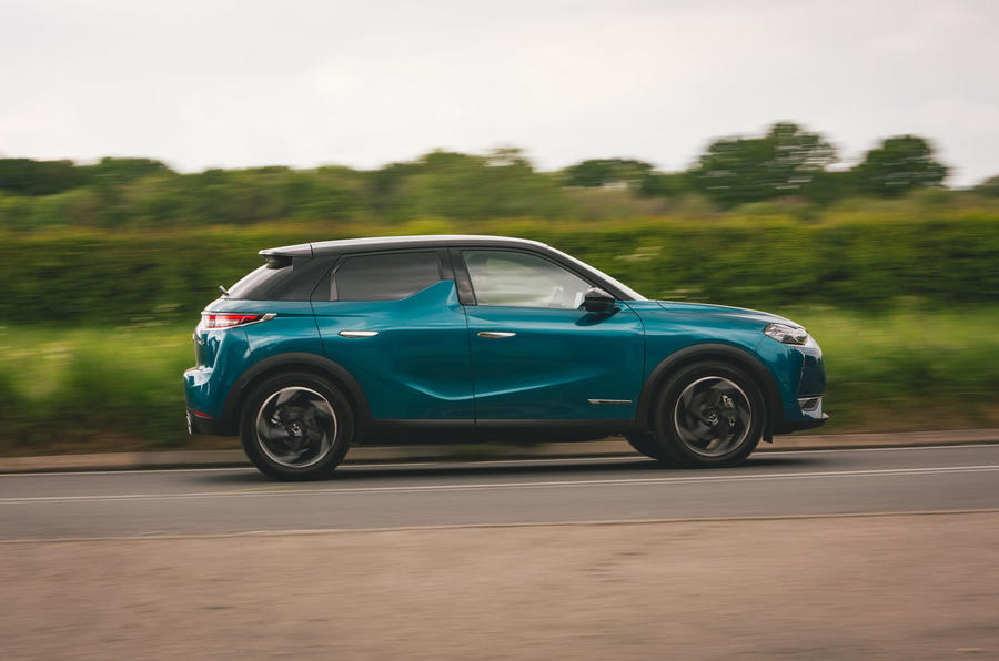 DS 3 Crossback 2019 road test review - hero side