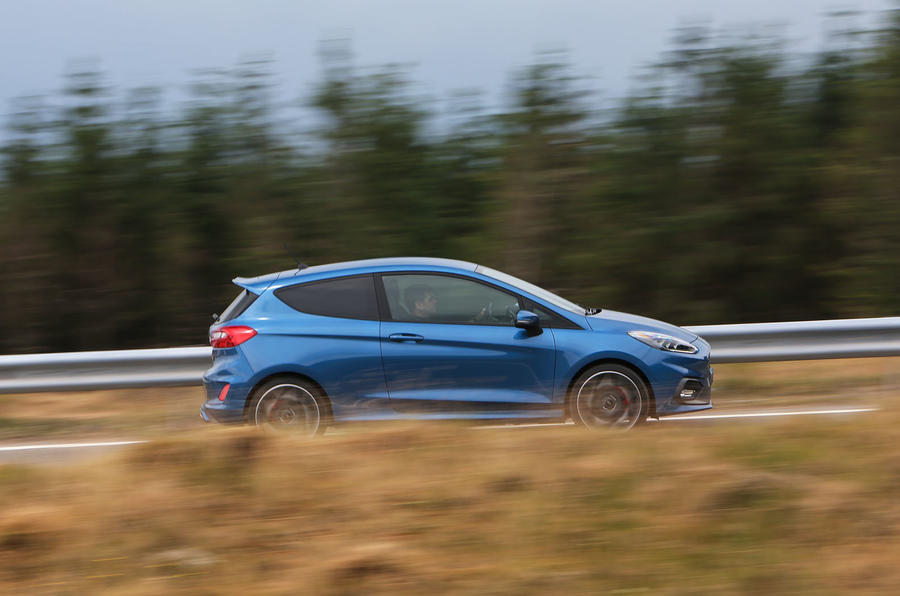 Ford Fiesta ST 2018 road test review hero side