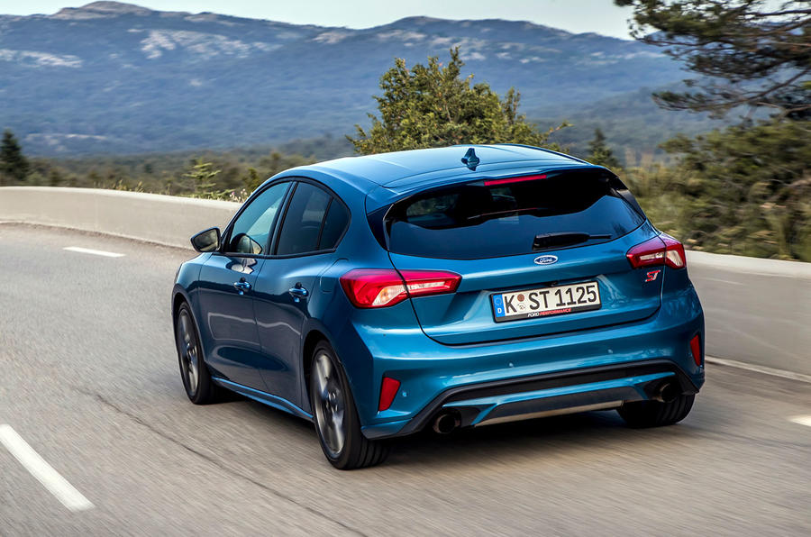 Ford Focus ST 2019 review - hero rear