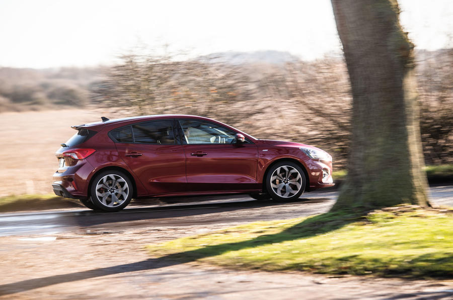 Ford Focus ST-line X 2019 road test review - hero side