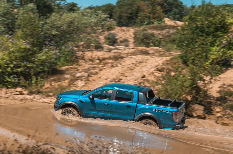 Ford Ranger Raptor 2019 road test review - hero side
