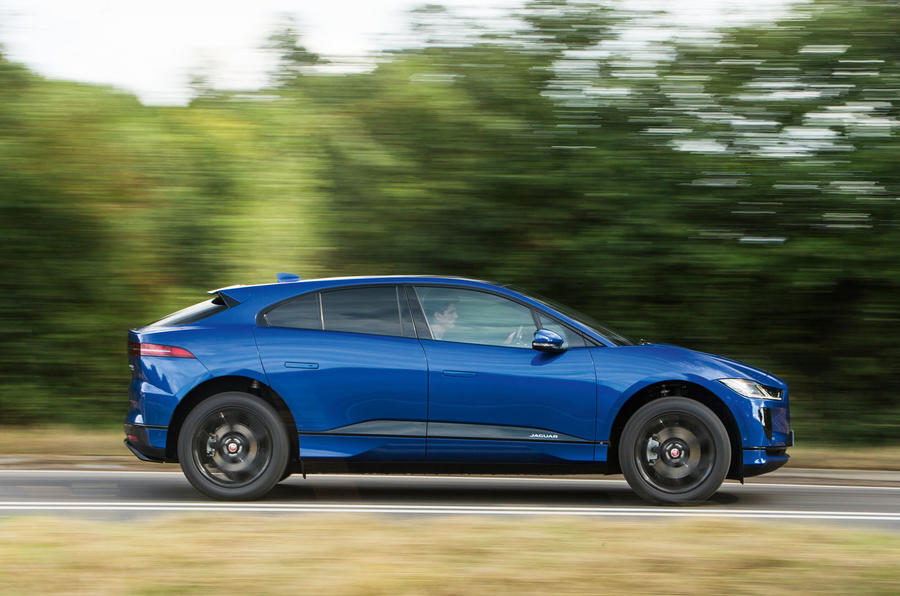 Jaguar I-Pace 2018 road test review hero side
