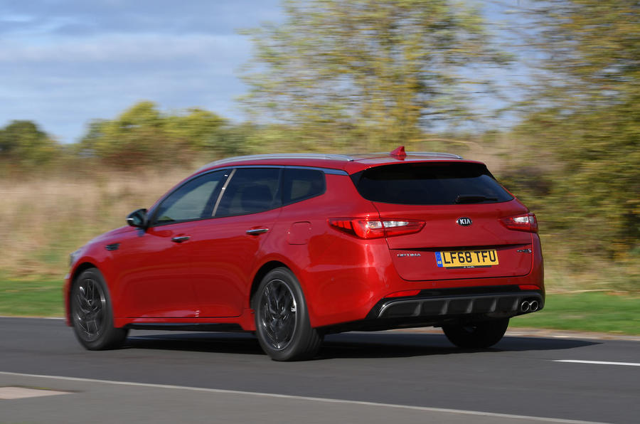 Kia Optima Sportswagon 2018 review - hero rear