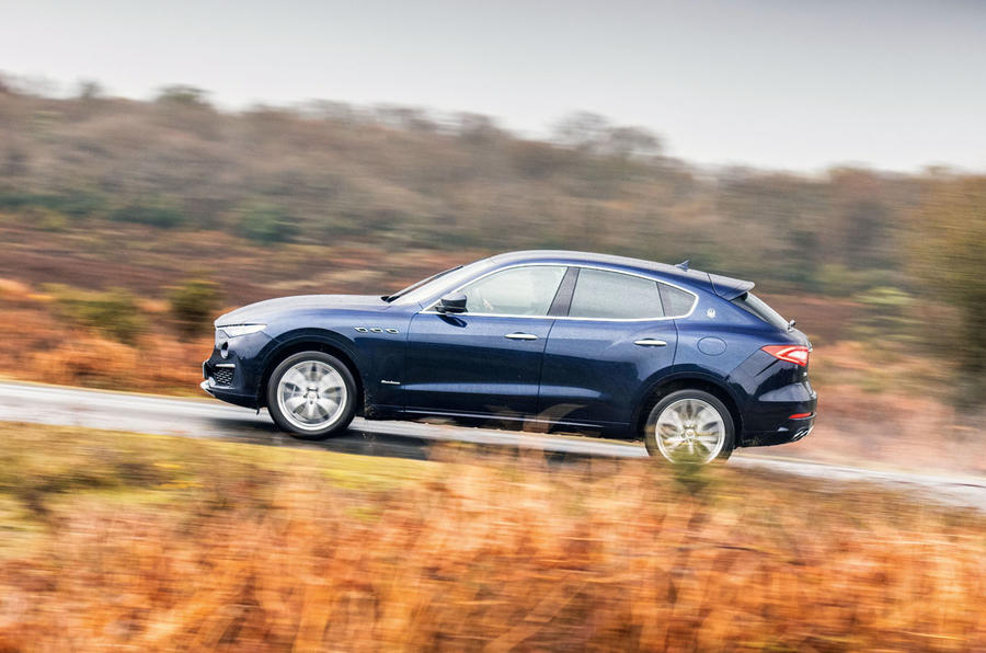 Maserati Levante S GranLusso 2019 road test review - hero side