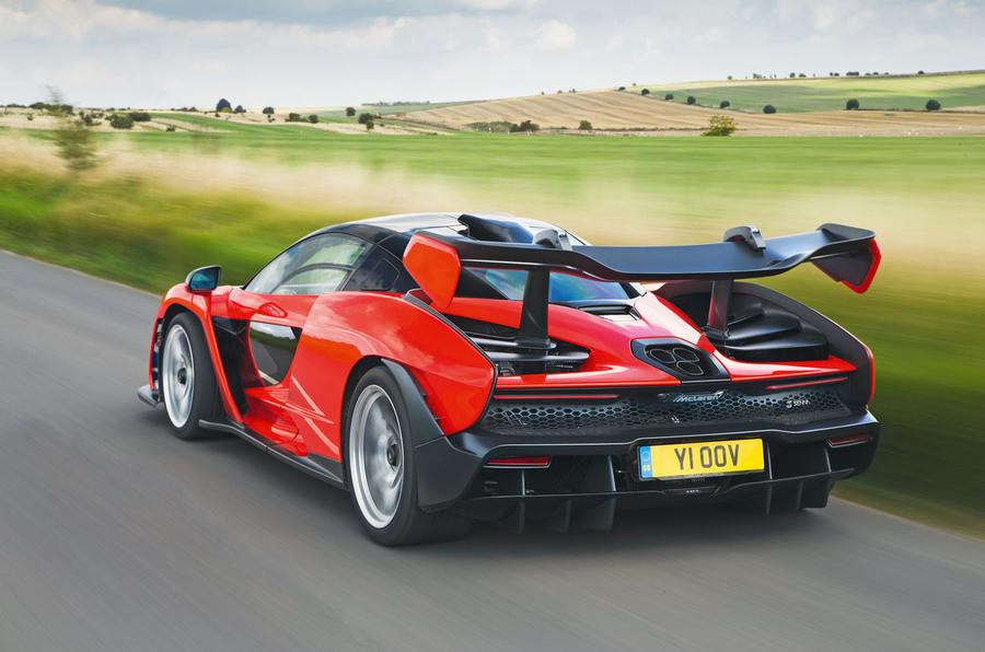 McLaren Senna 2018 road test review - hero rear