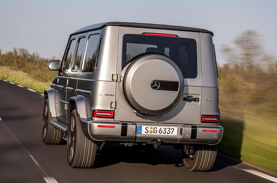 Mercedes-AMG G63 2018 review hero rear