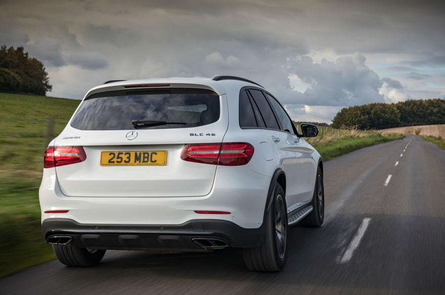 Mercedes-AMG GLC 43 road test review - hero rear
