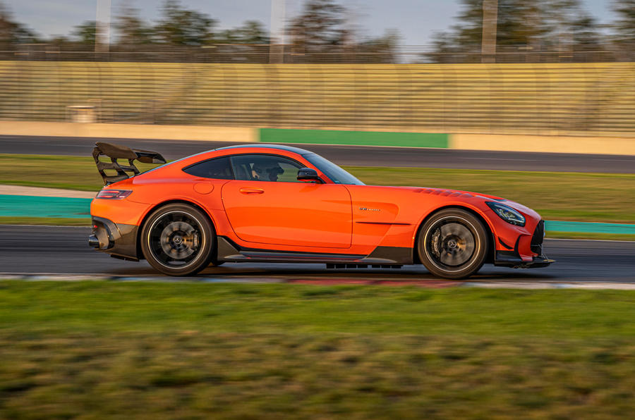 Mercedes-AMG GT Black Series road test review - hero side