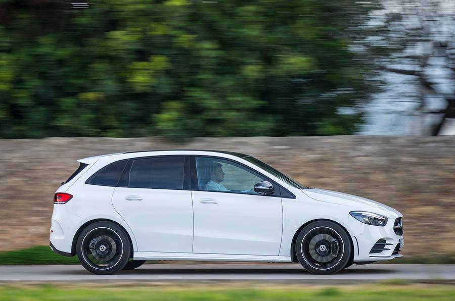 Mercedes-Benz B-Class review - hero side