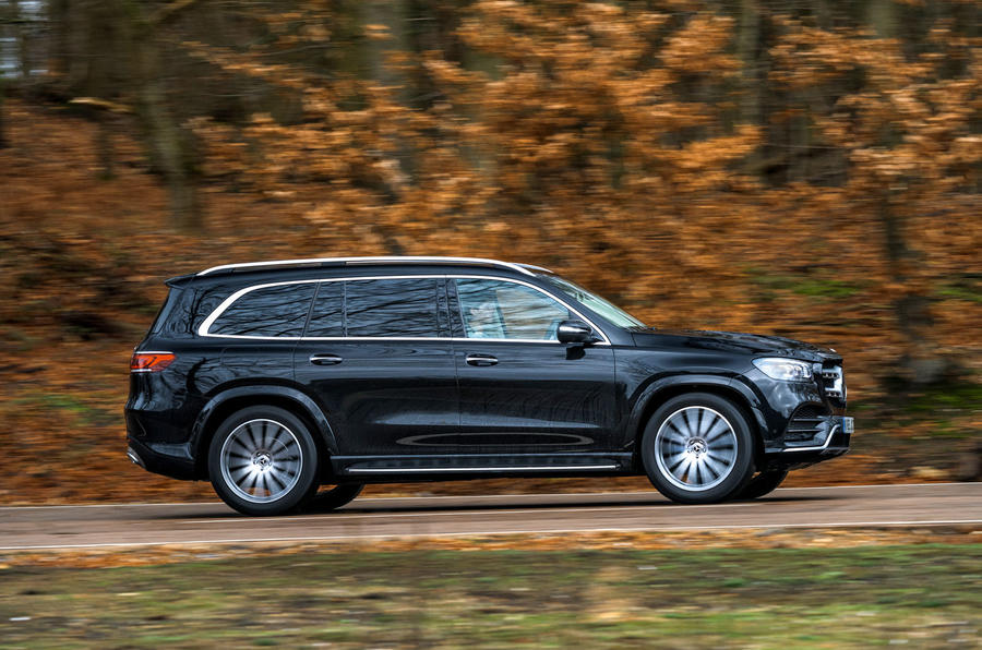 Mercedes-Benz GLS 2020 road test review - hero side
