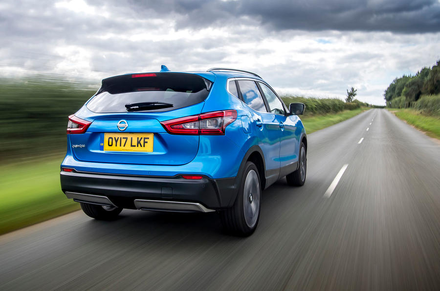 Nissan Qashqai road test review hero rear
