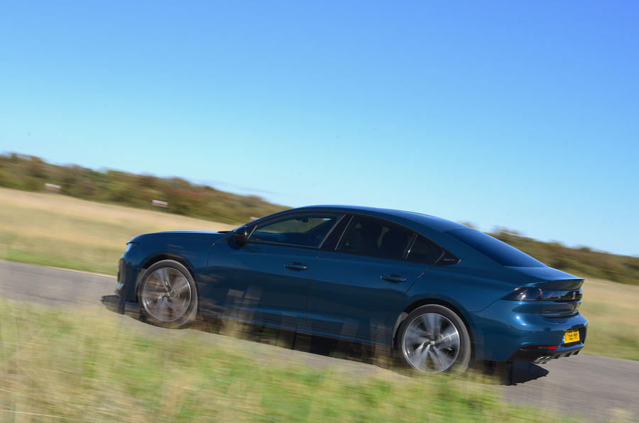 Peugeot 508 2018 road test review - hero side