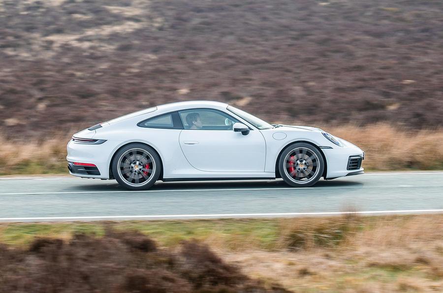 Porsche 911 Carrera S 2019 road test review - hero side