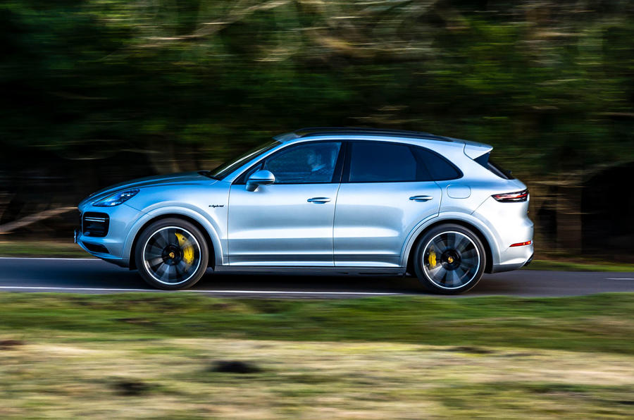 Porsche Cayenne Turbo S E-Hybrid road test review - hero side