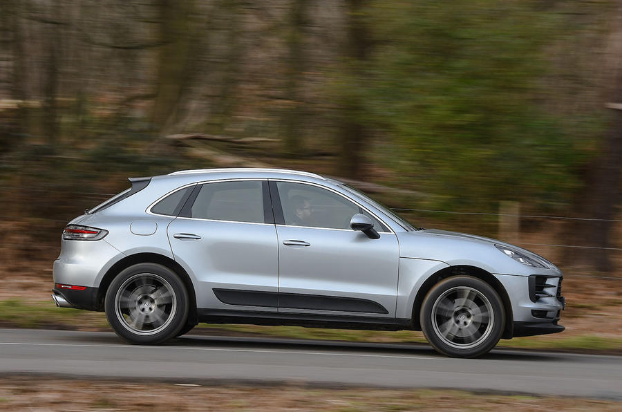 Porsche Macan 2019 road test review - hero side