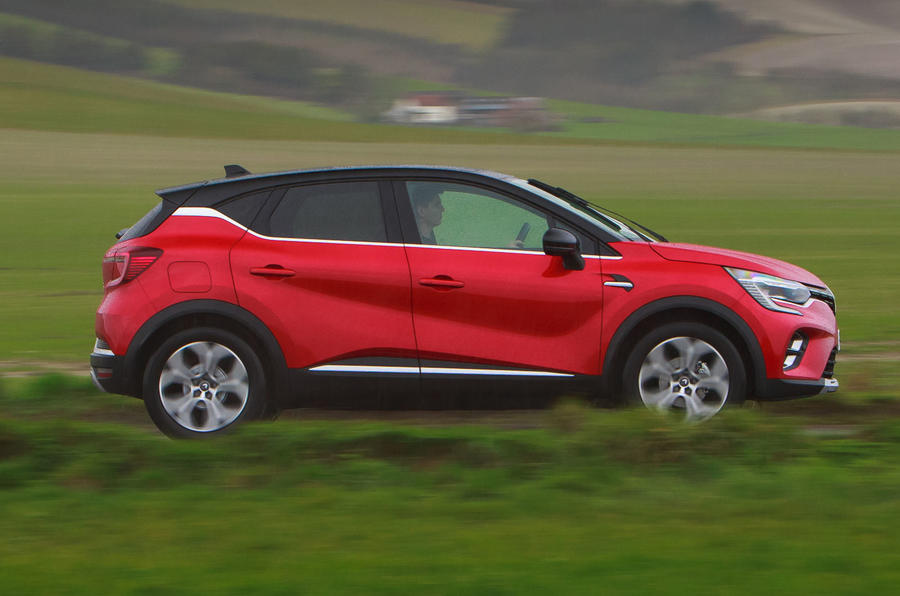 Renault Captur 2020 road test review - hero side