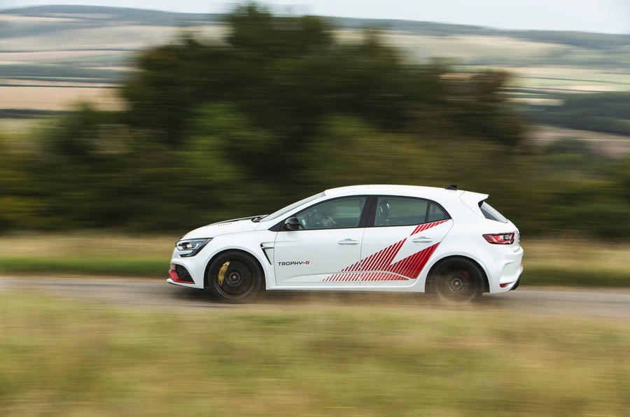 Renault Megane RS Trophy-R 2019 road test review - hero side