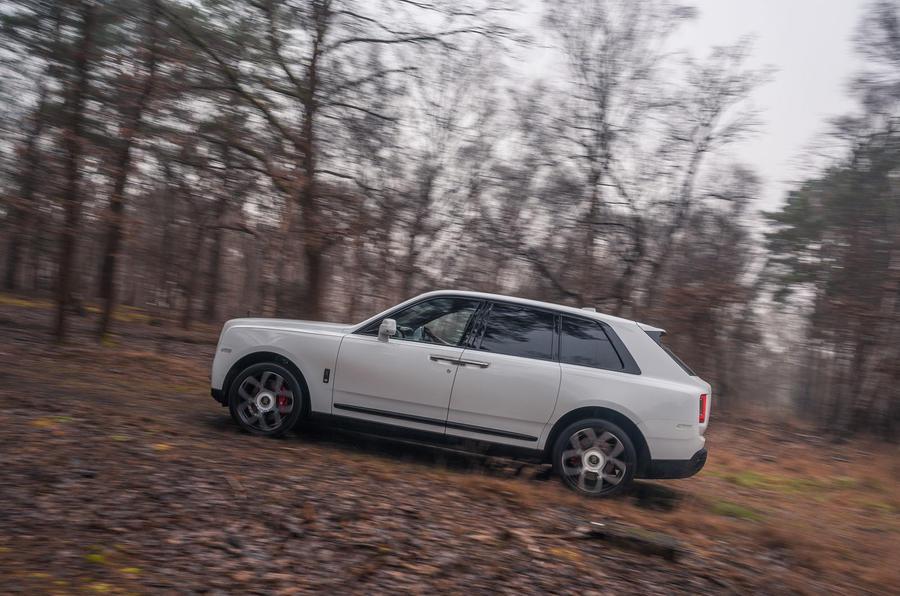 Rolls Royce Cullinan 2020 road test review - hero side