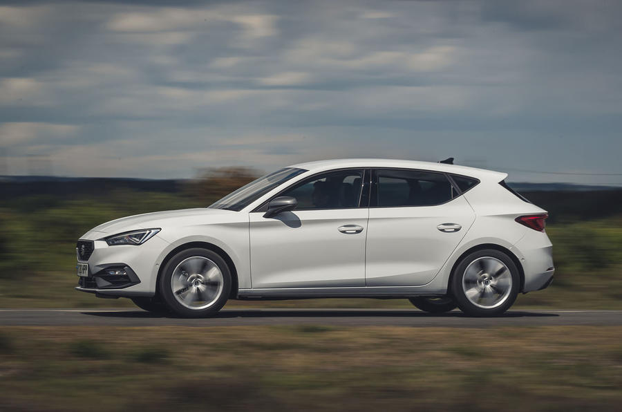 Seat Leon 2020 road test review - hero side