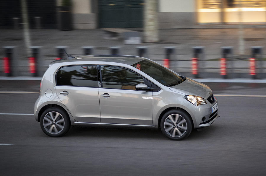 Seat Mii Electric 2020 road test review - hero side