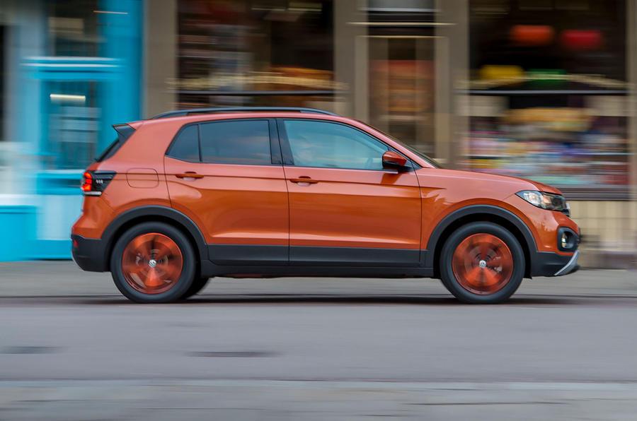Volkswagen T-Cross 2019 review - hero side