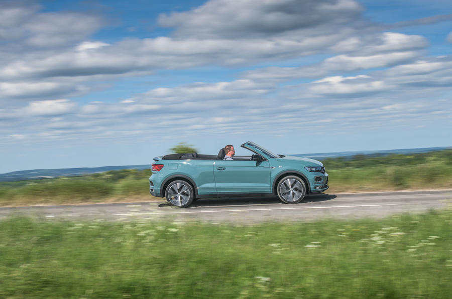 Volkswagen T-Roc Cabriolet 2020 road test review - hero side