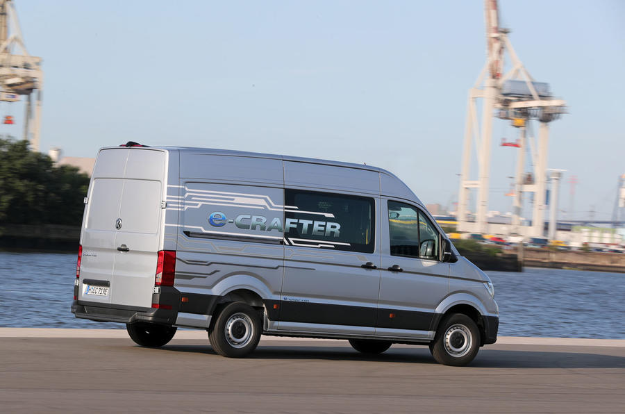Volkswagen e-Crafter 2018 review - hero rear