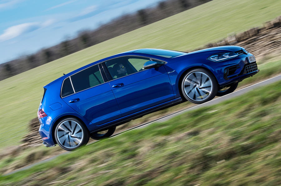 Volkswagen Golf R 2019 road test review - hero side